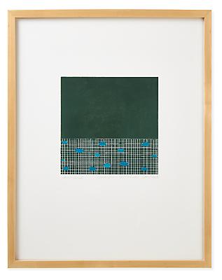 Juni Van Dyke, Dark Green Untitled, 2020, Limited Edition Print
