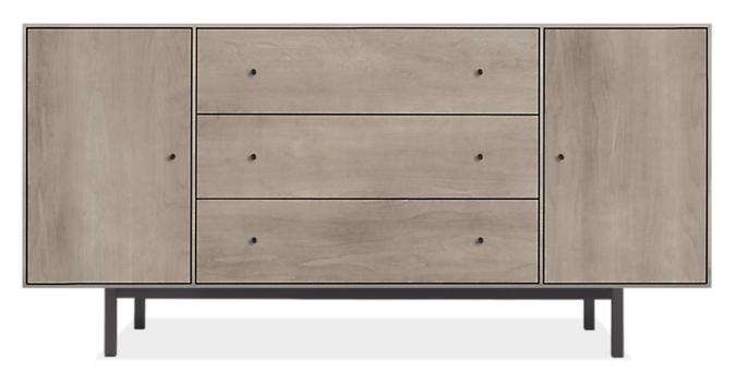 Hudson 60w 12d 29h Storage Cabinet with Steel Base