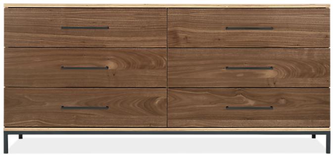 Baker 65w 19d 30h Six-Drawer Dresser