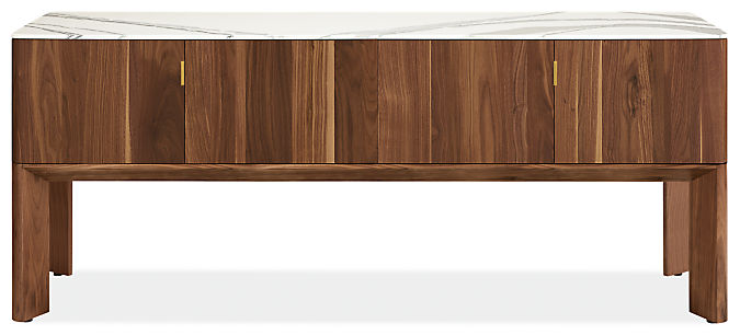 Pren 72w 18d 30h Console Cabinet with Cambria Quartz Top