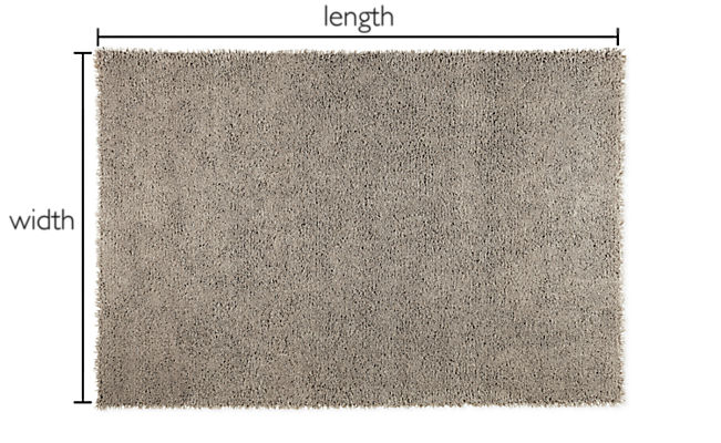Arden Custom High Shag Rectangle/Square Rug
