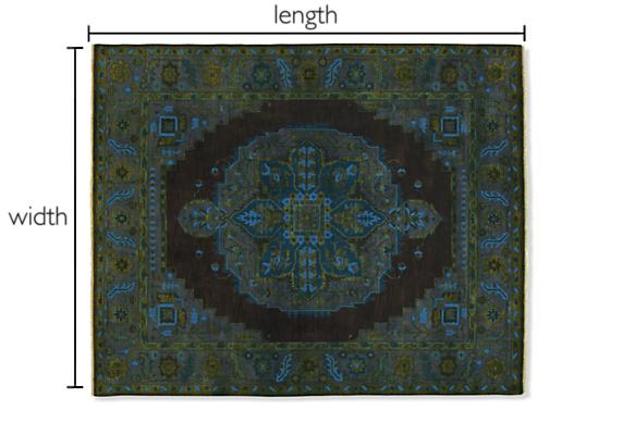 Heriz Custom Rectangle/Square Rug