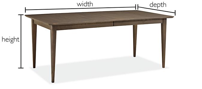 Adams Custom Extension Table