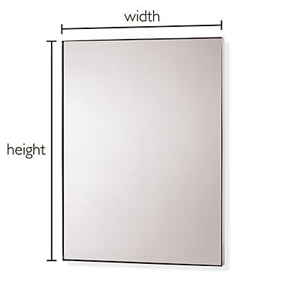 Infinity Custom Rectangle/Square Wall Mirror