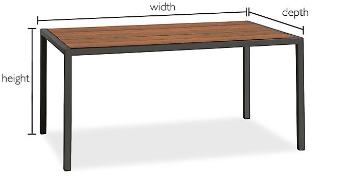 Montego Custom Table