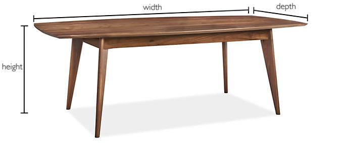 Ventura Custom 29h Table