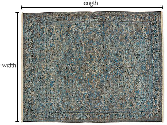 Caspian Custom Rectangle/Square Rug