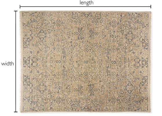 Anjora Custom Rectangle/Square Rug
