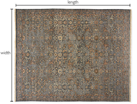 Vesuvio Custom Rectangle/Square Rug
