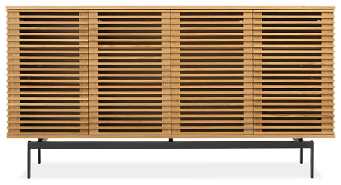 Coles 72w 18d 38h Four-Door Storage Cabinet