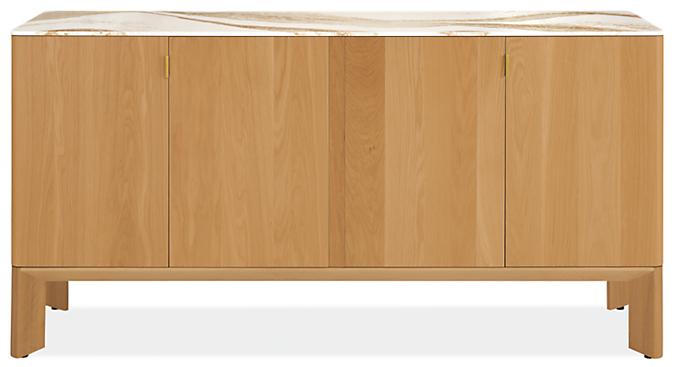 Pren 72w 18d 36h Storage Cabinet with Cambria Quartz Top