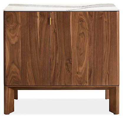 Pren 40w 18d 36h Bar Cabinet with Cambria Quartz Top
