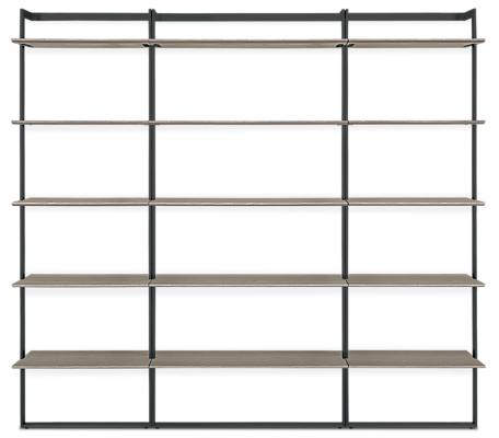 Beam 84w 12d 78h Bookcase Wall Unit