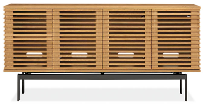 Coles 60w 12d 29h Four-Door Console Cabinet