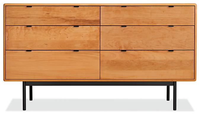 Hensley 60w 20d 33h Six-Drawer Dresser