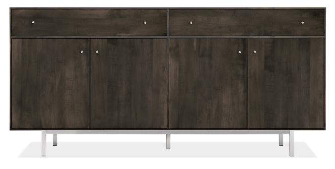 Hudson 72w 16d 34h Storage Cabinet with Steel Base