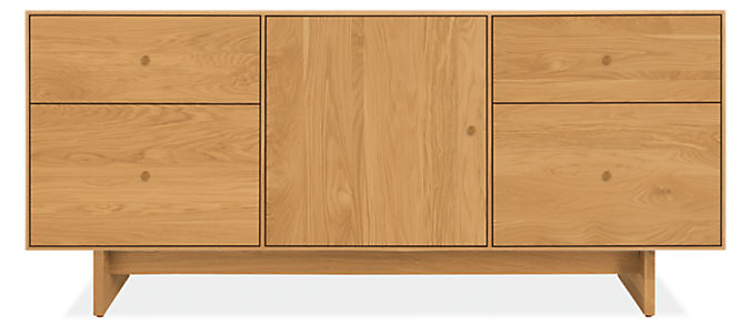Hudson 65w 20d 28h File Cabinet with Wood Base