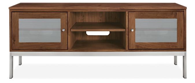 Linear 60w 18d 24h Two-Door Media Cabinet