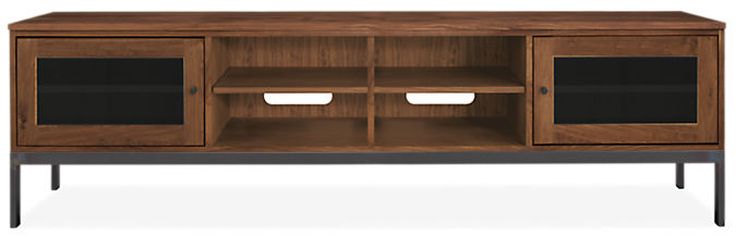 Linear 84w 18d 24h Two-Door Media Cabinet