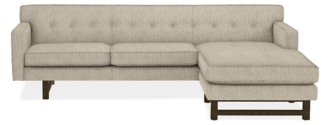 """Andre 101"""" Sofa with Reversible Chaise"""