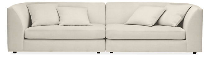 """Astaire 120"""" Two-Piece Sofa"""