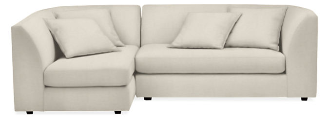"""Astaire 97"""" Two-Piece Sectional with Left-Arm Chaise"""