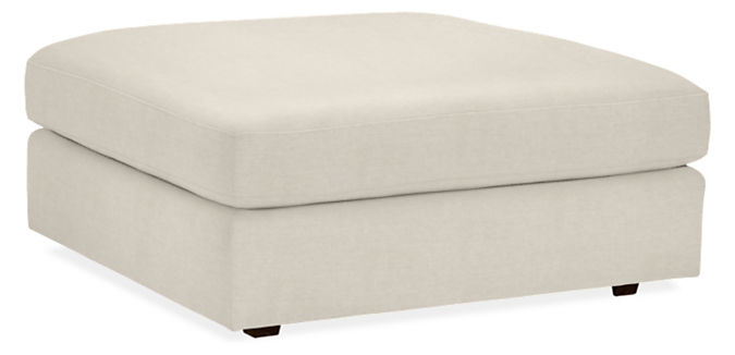 Astaire 37w 37d 16h Square Ottoman