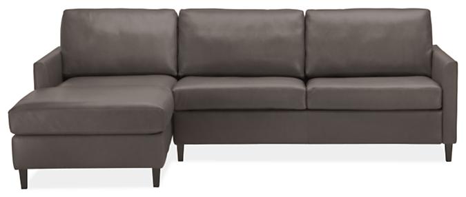 "Berin Slope Arm High 110"" QN Sleeper w/Left-Arm Chaise"