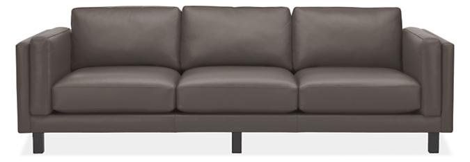 """Cade 101"""" Three-Cushion Sofa"""