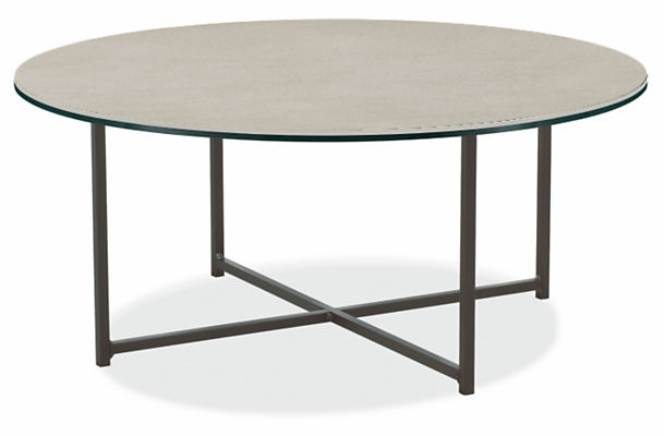 Classic 36 diam 16h Round Outdoor Coffee Table