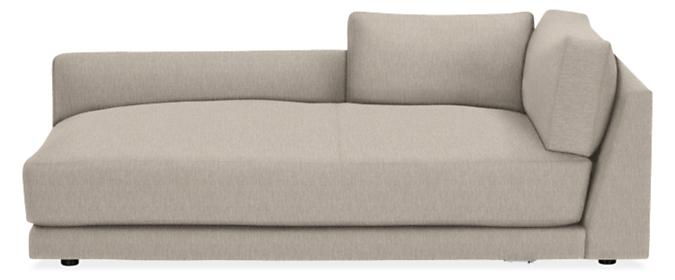 "Clemens Deep 43"" Left-Arm Chaise"