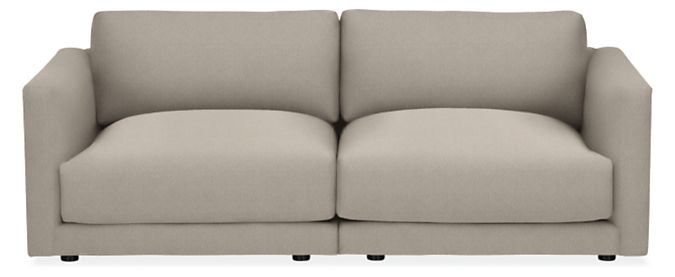 "Clemens Deep 86"" Two-Piece Modular Sofa"