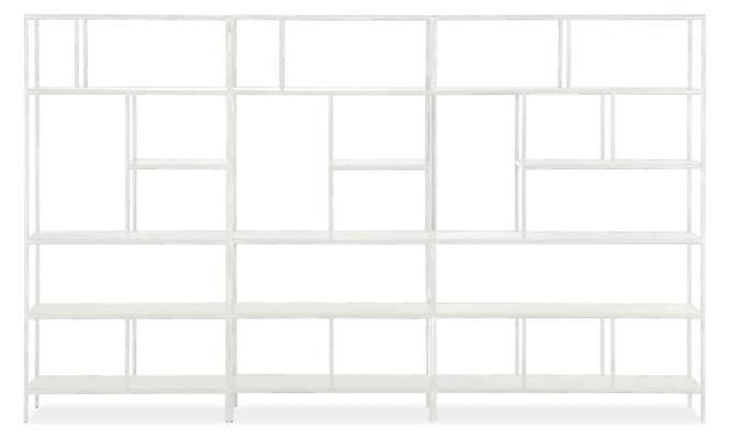 Foshay 120w 15d 72h Bookcase Wall Unit