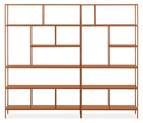 Foshay 84w 15d 72h Bookcase Wall Unit