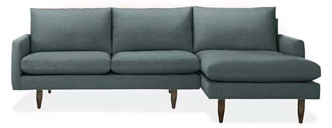 """Jasper 104"""" Sofa with Right-Arm Chaise"""