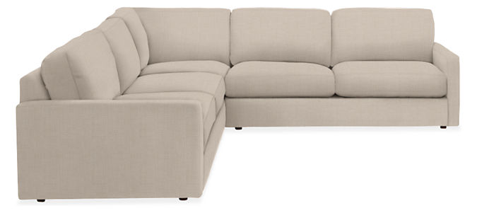 """Linger 103x103"""" Three-Piece Sectional"""