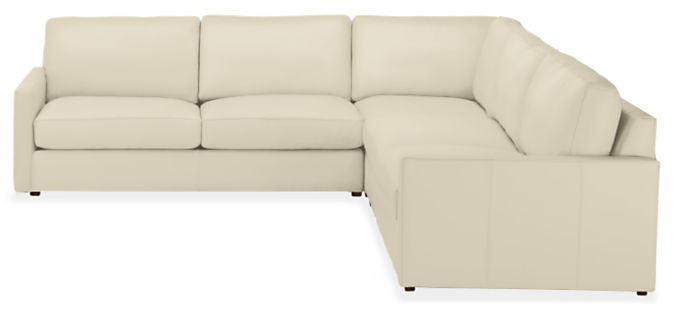 """Linger 113x113"""" Three-Piece Sectional"""