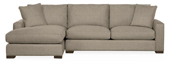 "Metro 112"" Sofa with Left-Arm Chaise"