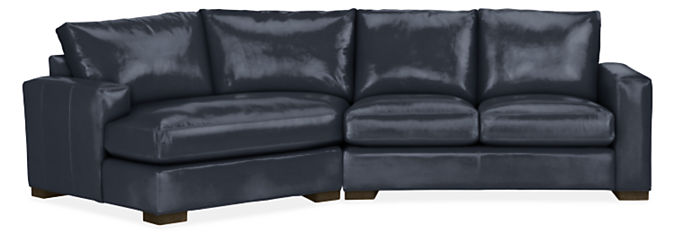 """Metro 121"""" Sofa with Left-Arm Angled Chaise"""