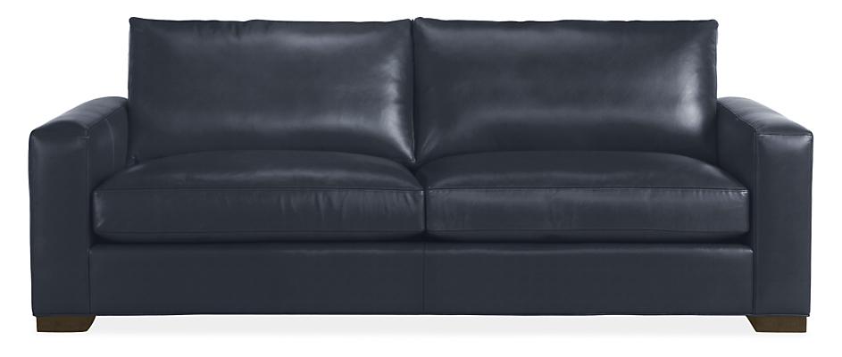 Metro Leather Sofas Modern Living, Mccreary Modern Furniture