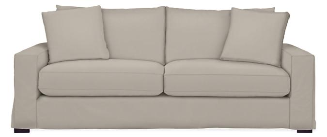 "Metro Slipcover for 88"" Two-Cushion Sofa"