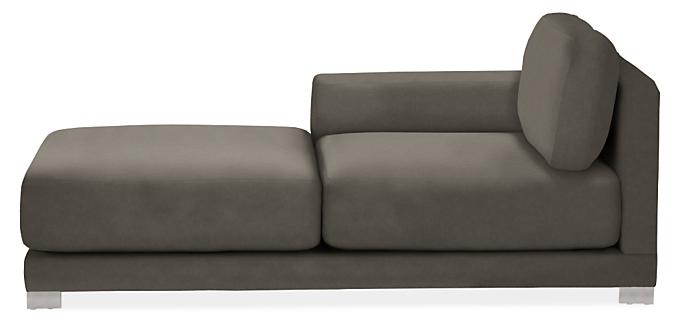 "Mira 41"" Left-Arm Chaise"