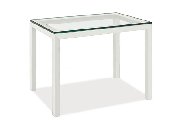 """Parsons 30w 20d 24h Outdoor Side Table with 1.5"""" Leg"""