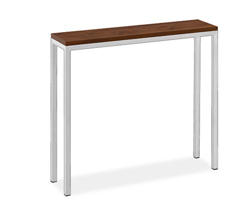 Parsons 32w 8d 29h Thin Leg Table