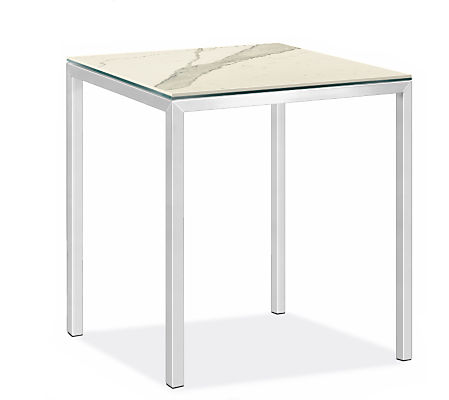 """Parsons 40w 40d 42h Bar Table with 2"""" Leg"""