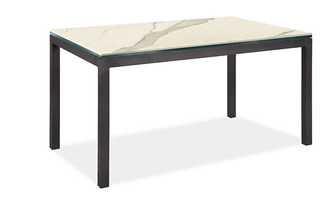 """Parsons 60w 36d Table with 2"""" Leg"""