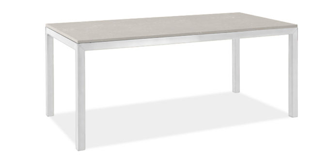 """Parsons 72w 30d Table with 2"""" Leg"""