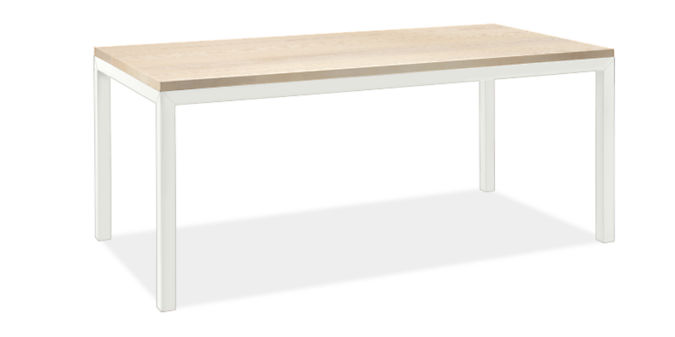 """Parsons 72w 36d Table with 2"""" Leg"""