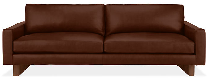 """Pierson 89"""" Sofa with Wood Base/Legs"""