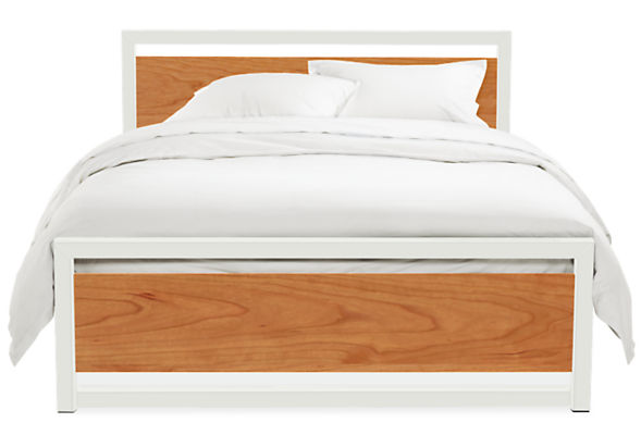 Piper Full Bed with Wood Panels